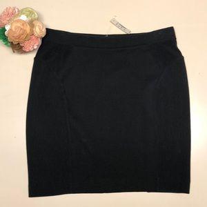 NWT Madewell Black Skirt Size M